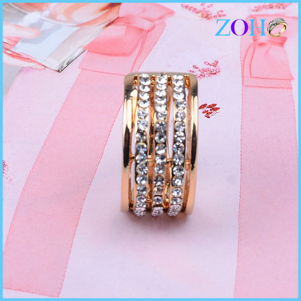 In Stock Pretty perfect Ring Embellished with crystals from  Crystals Ring new Fashion Ring