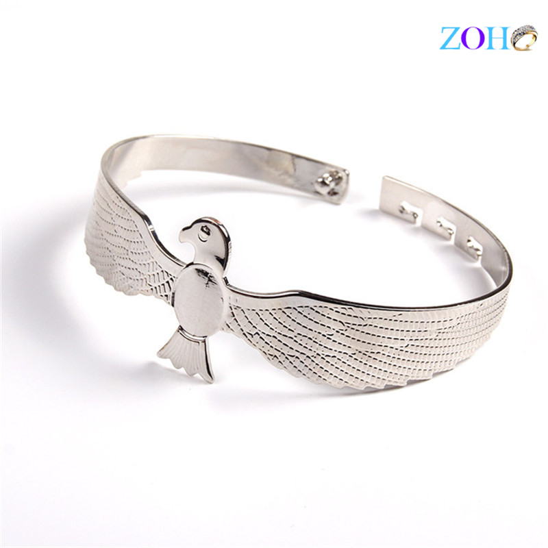 New designs animal fashion men's bangle jewelry