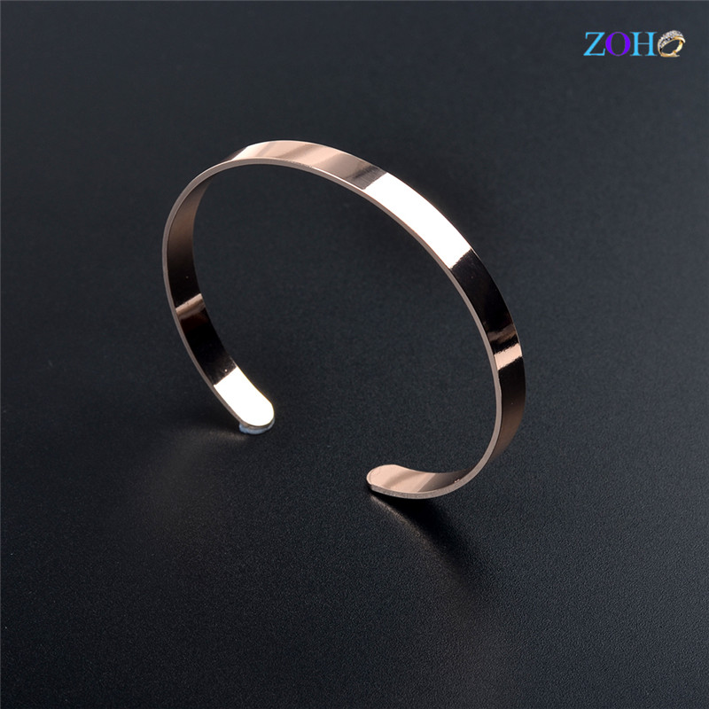 Solid gold color alloy bangles fashion jewelry trendy bangles for women