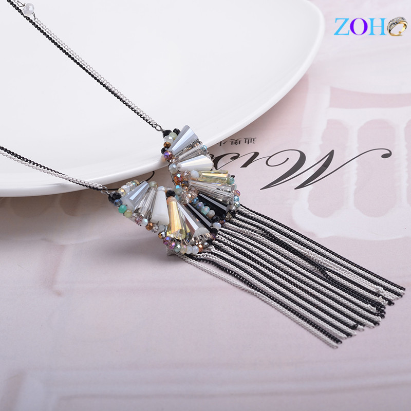 Fashion Bohemian necklace、long paragraph sweater chain