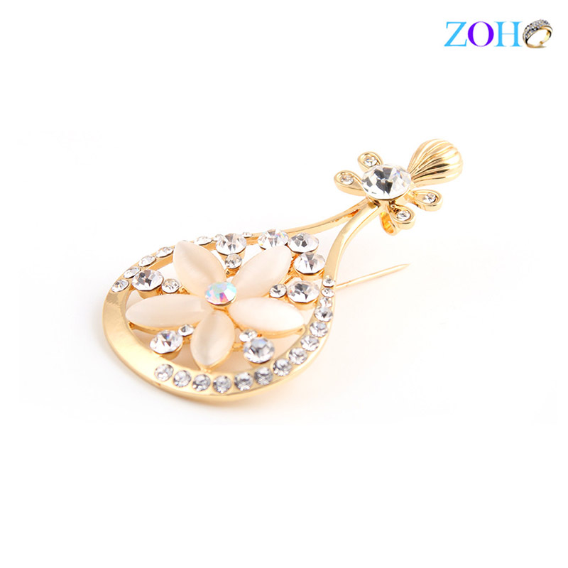 Europe and the United States bursts of foreign trade jewelry lute musical instruments brooch fashion wild clothing pin
